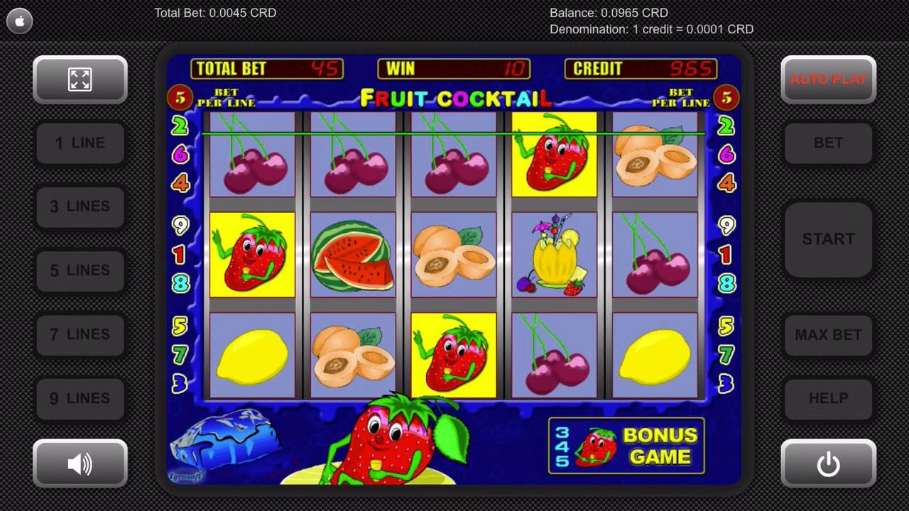 Igrosoft - Fruit Cocktail (Bonus Game) - YouTube
